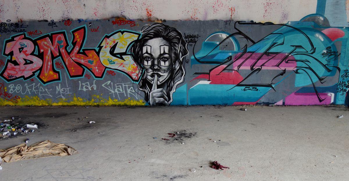 Street Art : Graffitis & Fresques Murales 75013 Paris