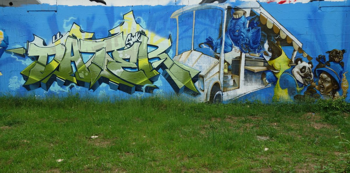 Street Art : Graffitis & Fresques Murales  Département Essonne (91)