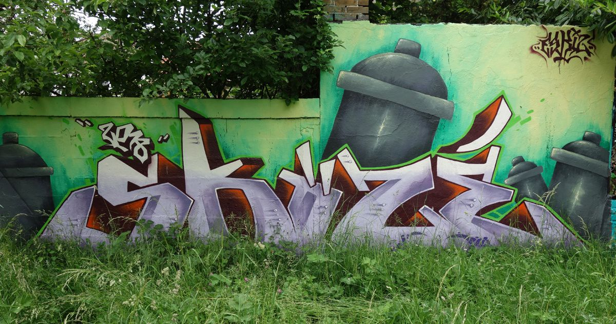 Street Art : Graffitis & Fresques Murales  93051 Noisy le grand