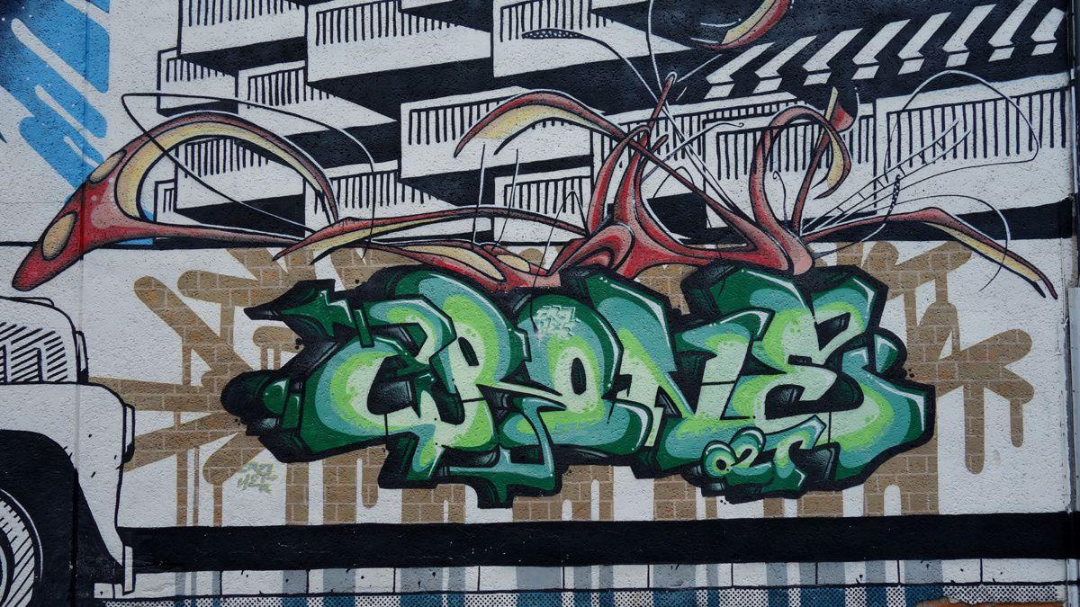 Street Art : Graffitis & Fresques Murales 24322 Perigueux