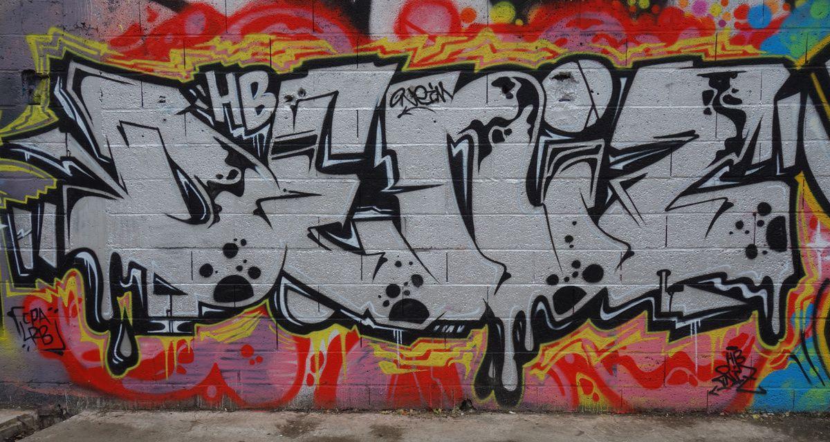 Street Art : Graffitis & Fresques Murales 35059 la Chapelle des Fougeretz