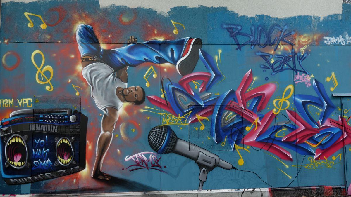 Street Art : Graffitis & Fresques Murales 87085 Limoges
