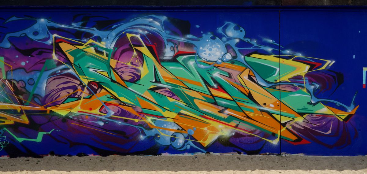Street Art : Graffitis & Fresques Murales 44190 Saint Sebastien sur Loire