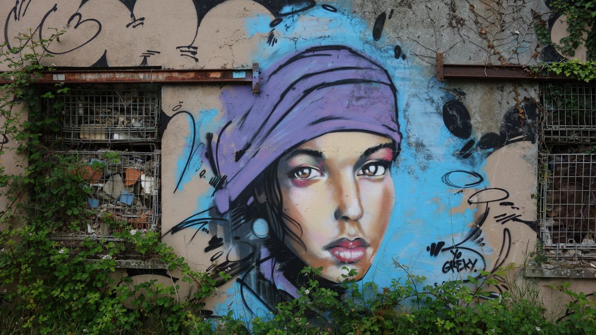 Street Art : Graffitis & Fresques Murales 44185 Saint Nicolas de Redon
