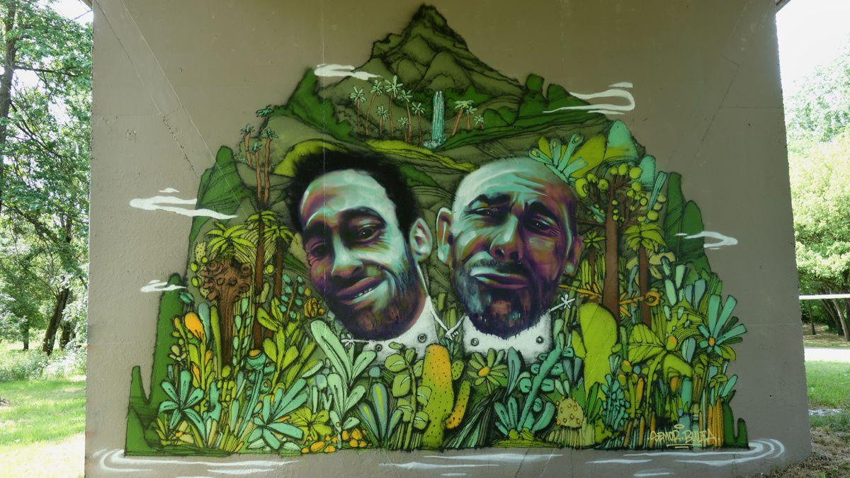 Street Art : Graffitis & Fresques Murales 44143 Reze