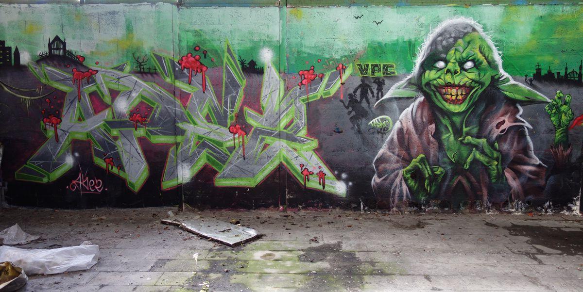 Street Art : Graffitis & Fresques Murales 16015 Angouleme