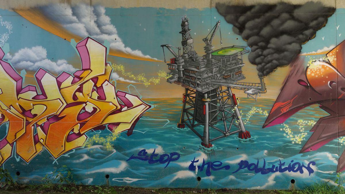 Street Art : Graffitis & Fresques Murales Département Val d'Oise (95)