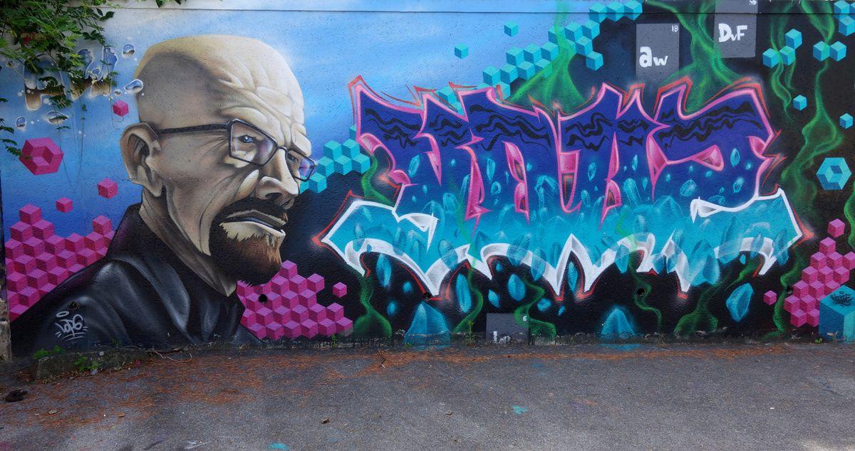 Street Art : Graffitis & Fresques Murales 95566 Saint Martin du Tertre