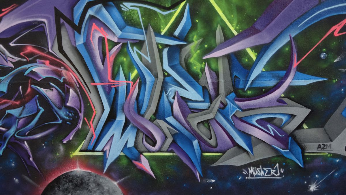 Street Art : Graffitis & Fresques Murales 49007 Angers