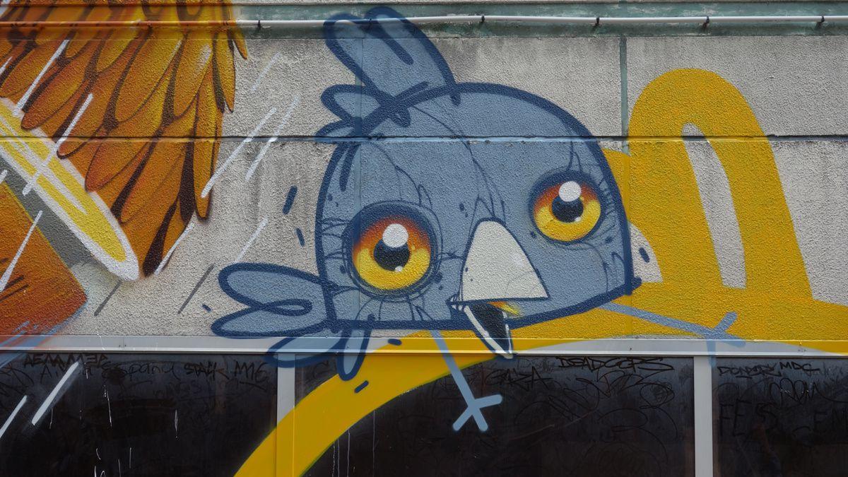 Street Art : Graffitis & Fresques Murales 95127 Cergy