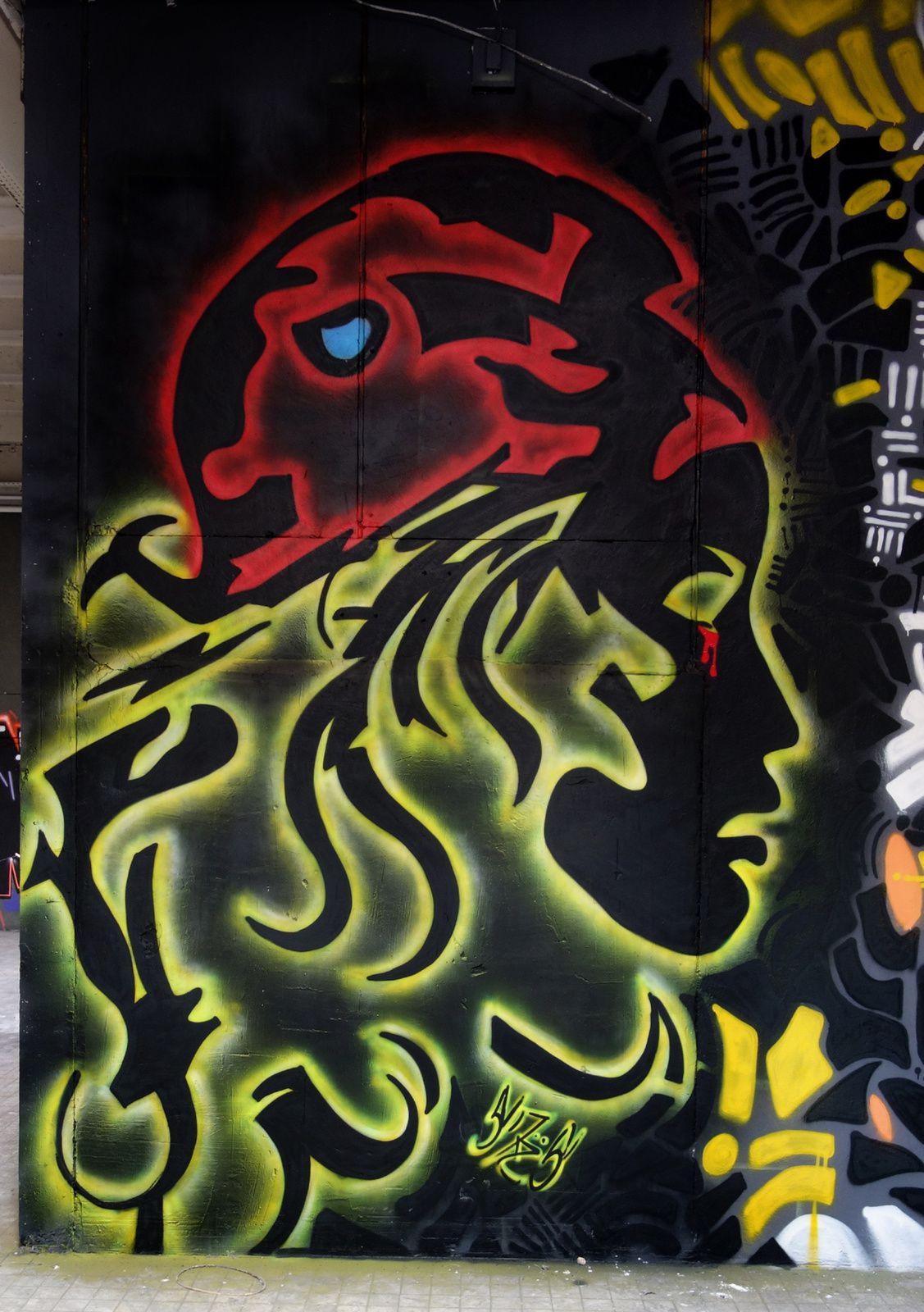 Street Art : Graffitis & Fresques Murales 24557 Trelissac