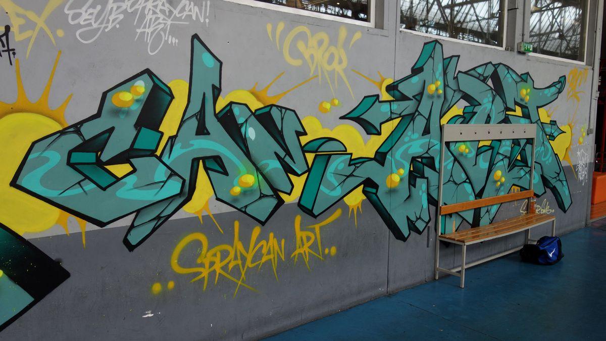 Street Art : Graffitis & Fresques Murales 94011 Bonneuil sur marne