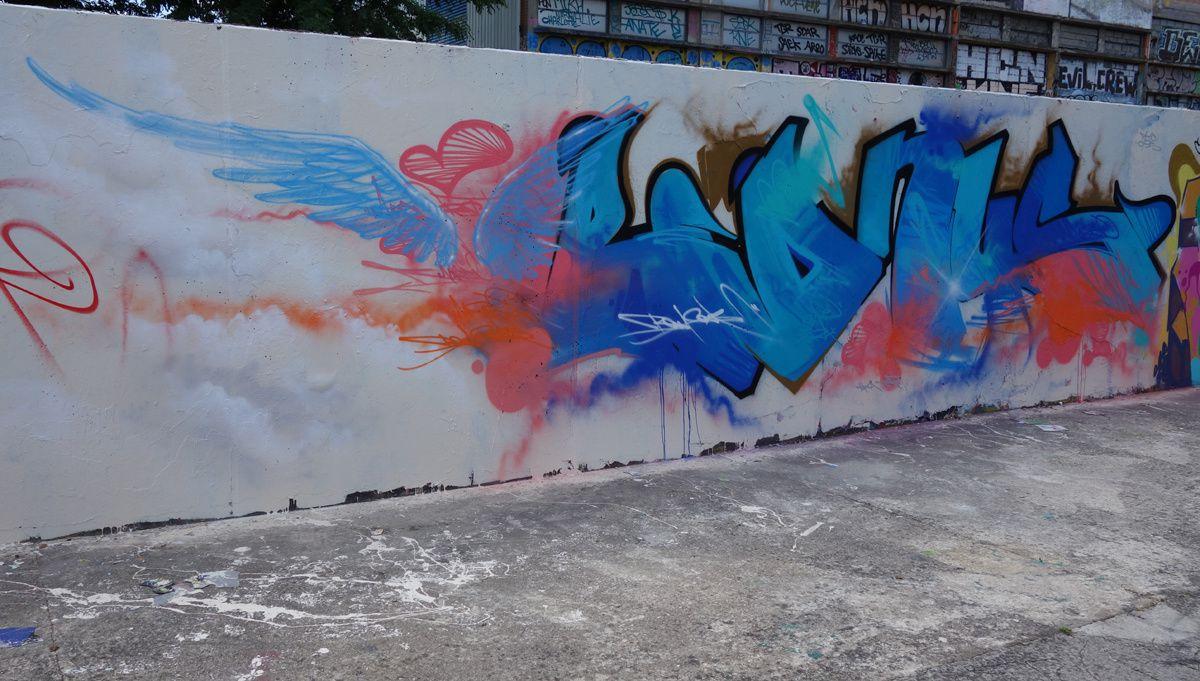 Street Art : Graffitis & Fresques Murales 78361 Mantes la Jolie