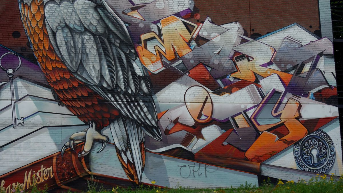 Street Art : Graffitis & Fresques Murales 5600 Eindhoven (Pays Bas)