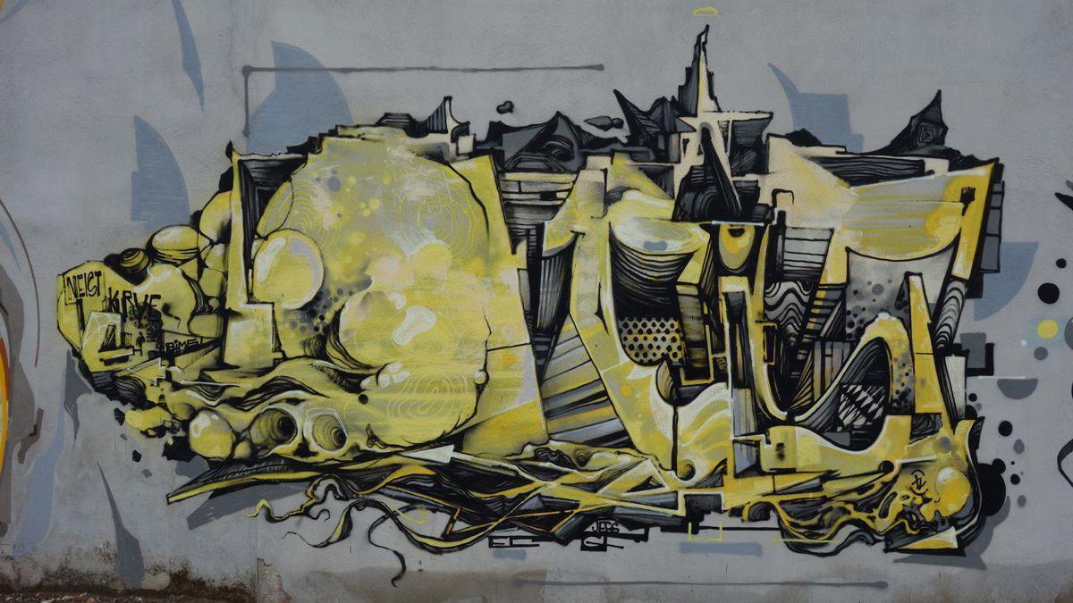 Street Art : Graffitis & Fresques Murales 5600 Eindhoven (Pays Bas)