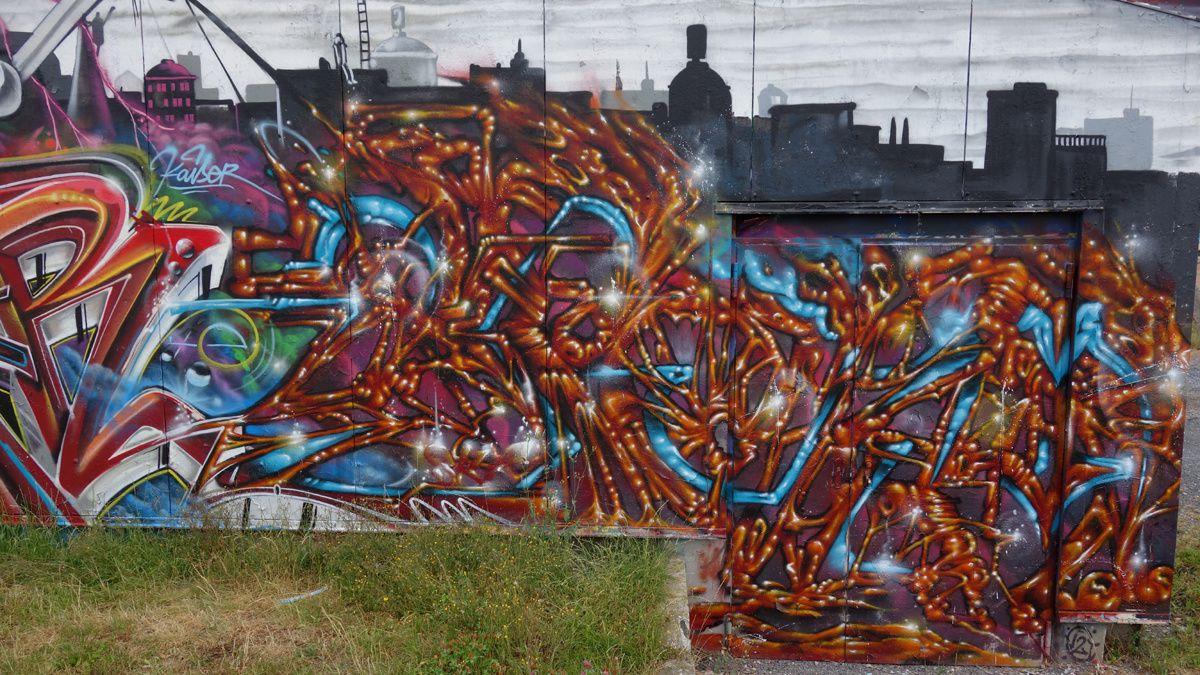 Street Art : Graffitis & Fresques Murales 59112 Bruay sur l'Escaut