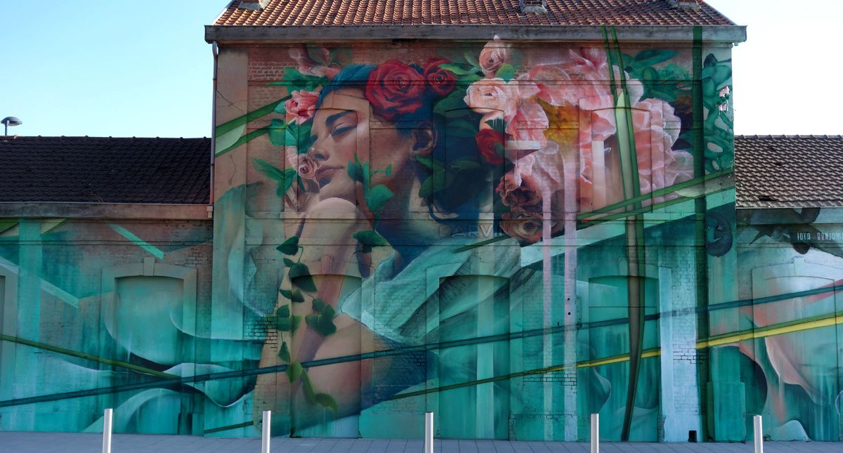 Street Art : Graffitis & Fresques Murales 62215 Carvin