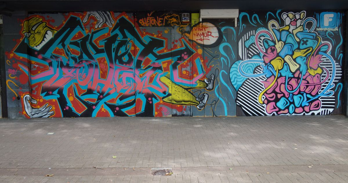 Album - Graffitis Belgique Tom 017