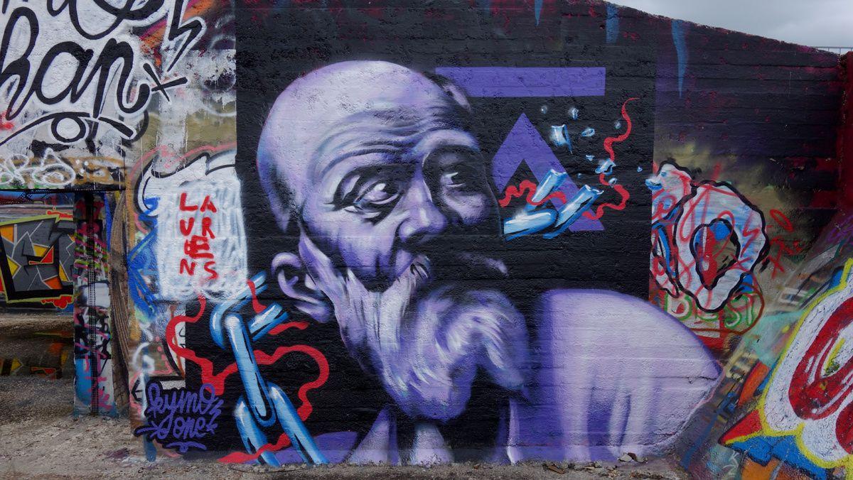Street Art : Graffitis & Fresques Murales 9000 Gent (Belgique)