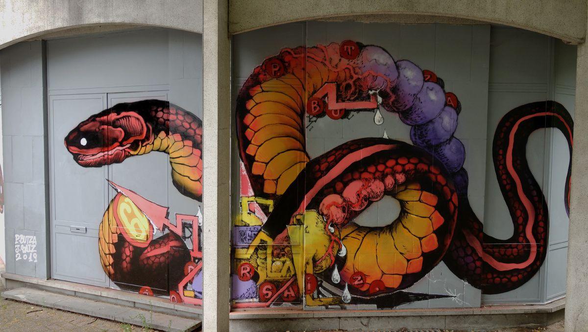 Street Art : Graffitis & Fresques Murales 5000 Namur (Belgique)