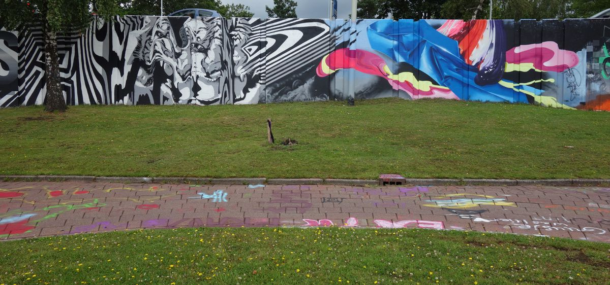 "Street Art : Graffitis & Fresques Murales ""Step in the Arena"" 5600 Eindhoven (Pays Bas)"