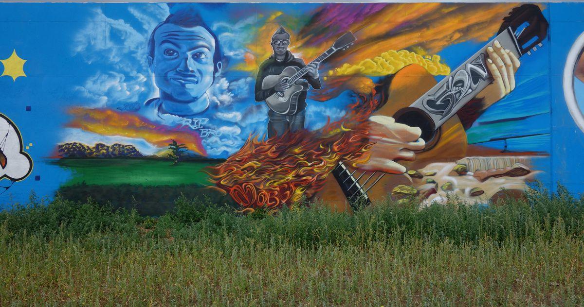 Street Art : Graffitis & Fresques Murales 2660 Antwerpen (Belgique)