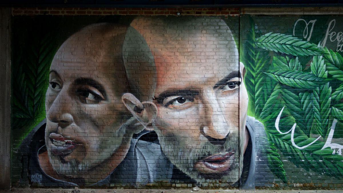 Street Art : Graffitis & Fresques Murales 9600 Ronse (Belgique)