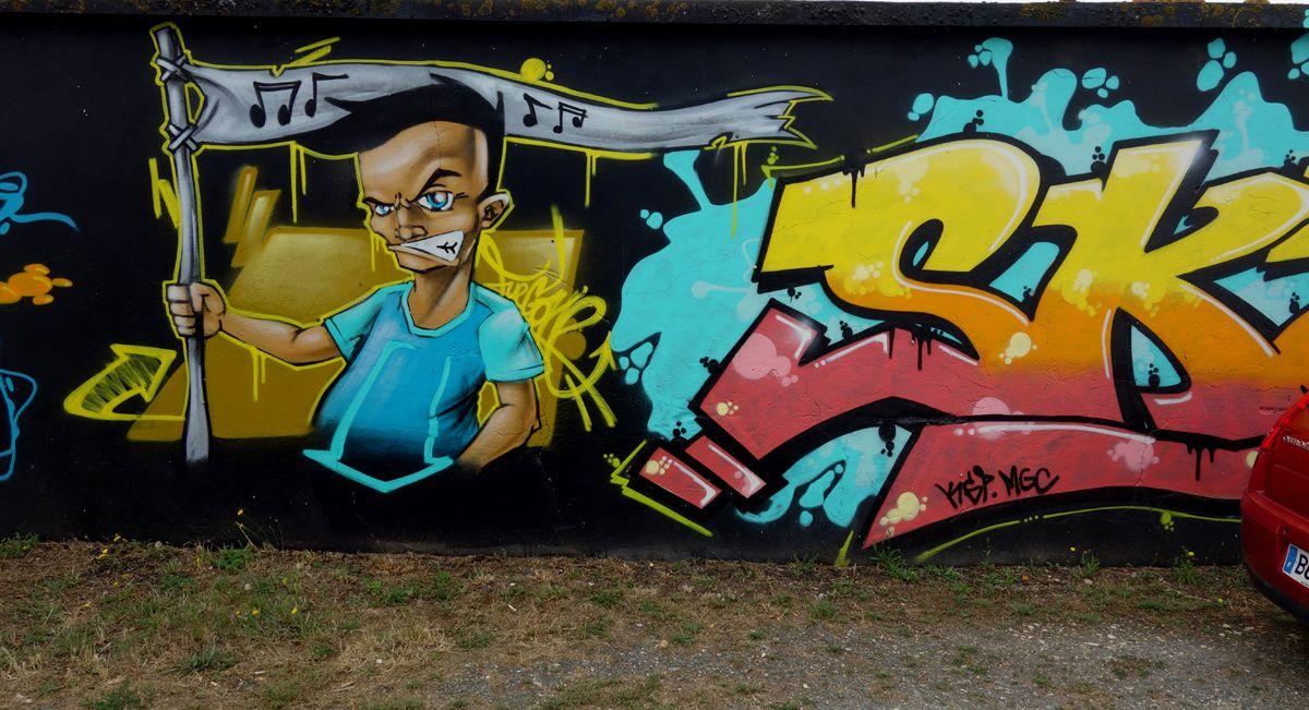 Street Art : Graffitis & Fresques Murales 17000 La Rochelle
