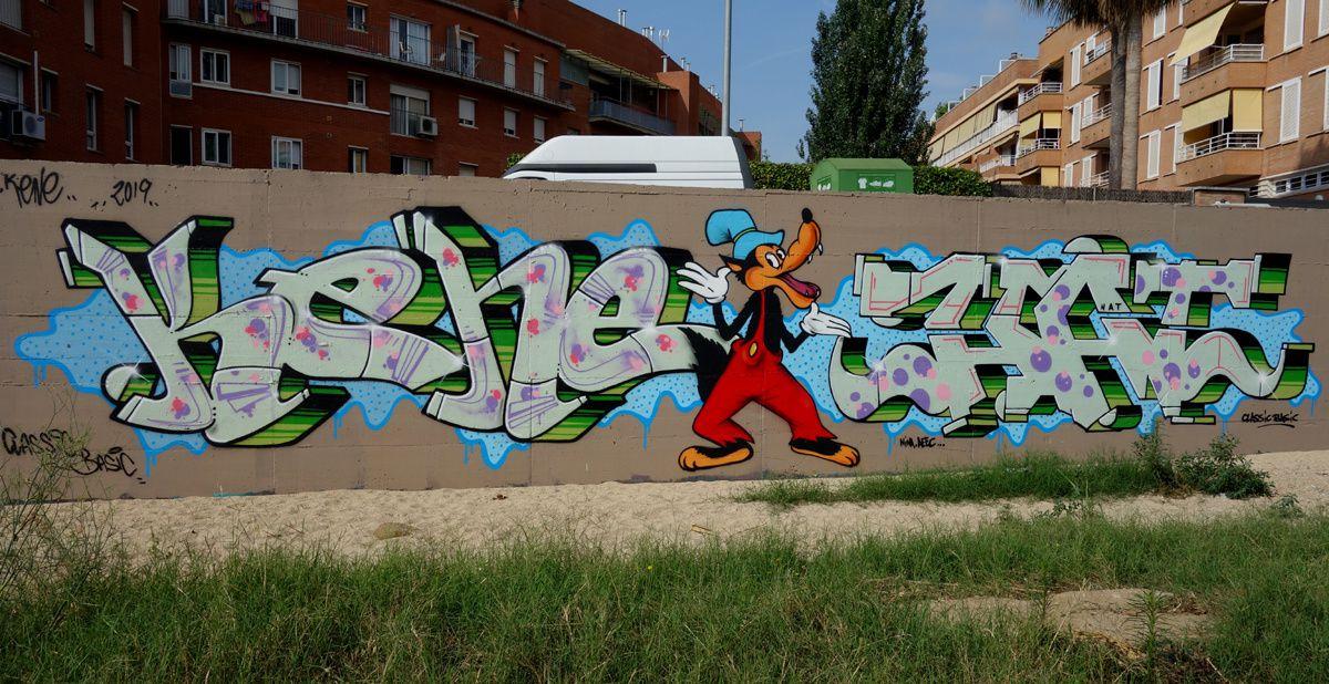 Street Art : Graffitis & Fresques Murales 08340 Vilassar de mar (Catalunya)