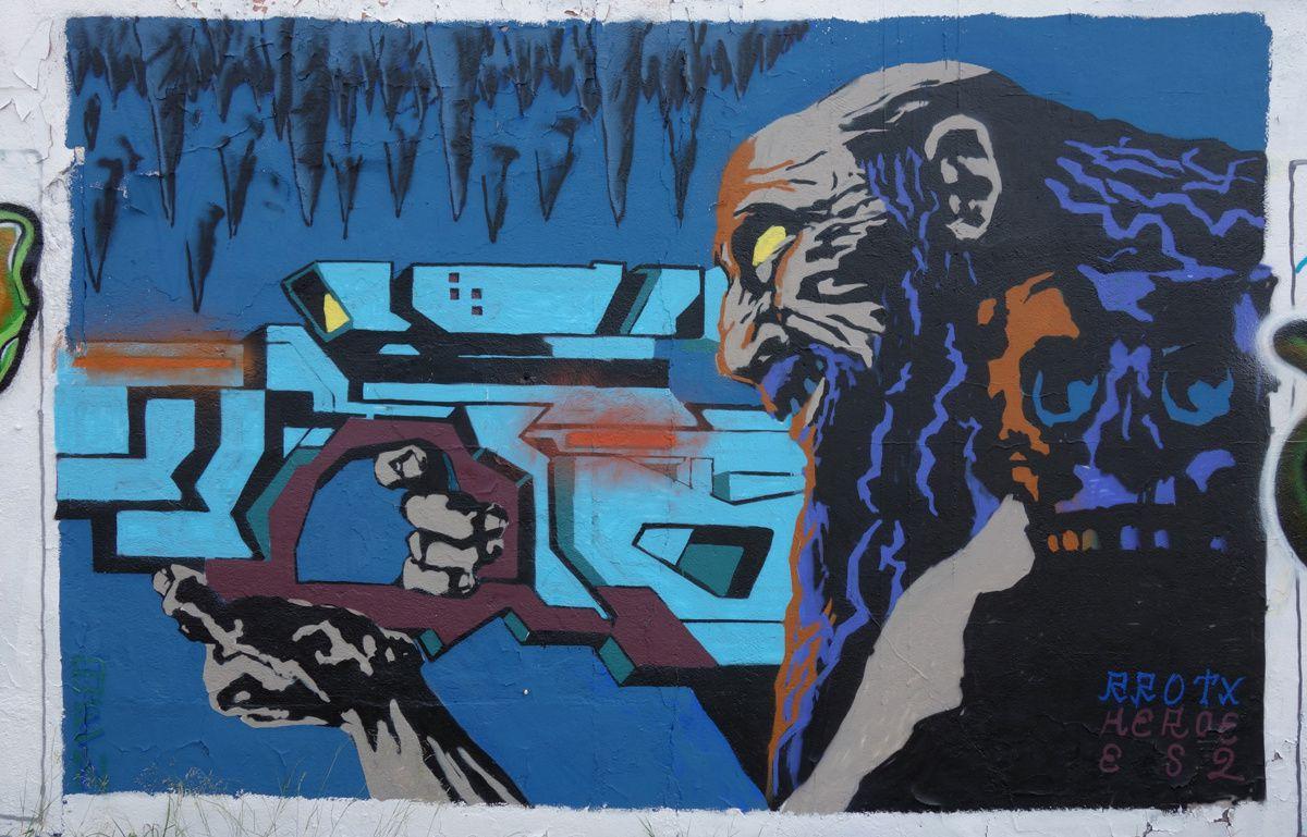 Street Art : Graffitis & Fresques Murales 08301 Mataro (Catalunya)