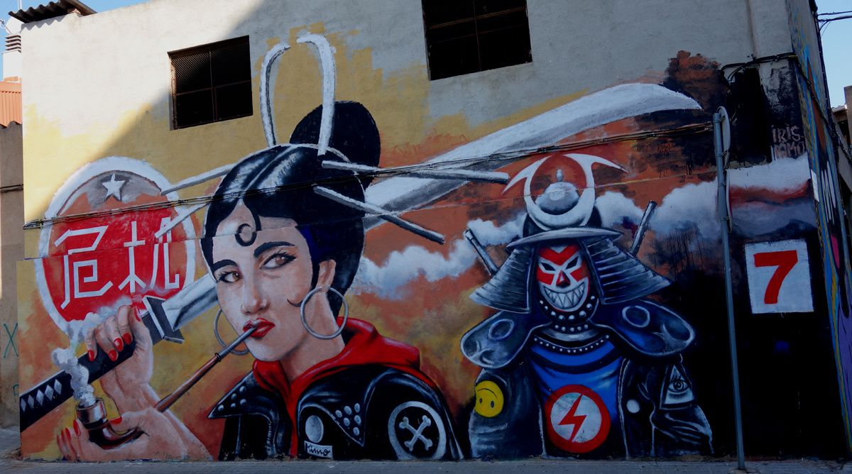 Street Art : Graffitis & Fresques Murales 08210 Barbera Del Vales (Catalunya)