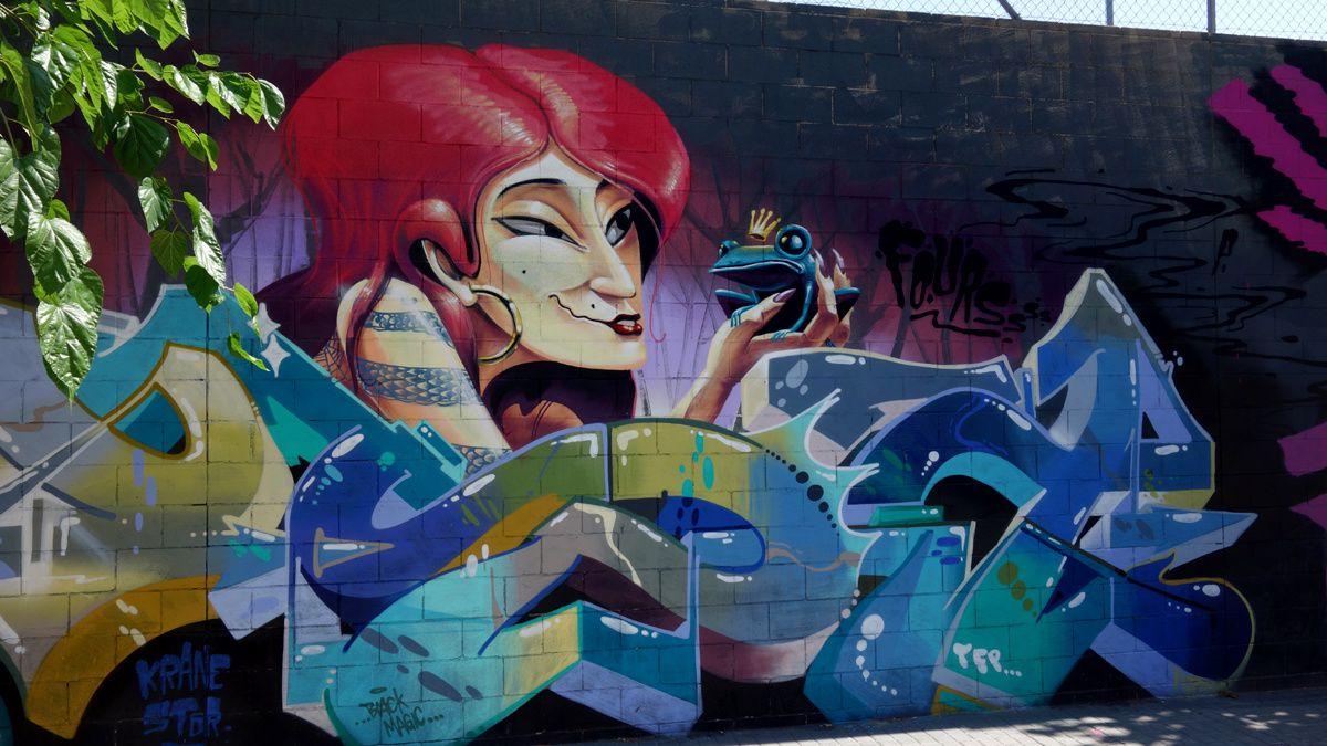 Street Art : Graffitis & Fresques Murales 08207 Sabadell (Catalunya)