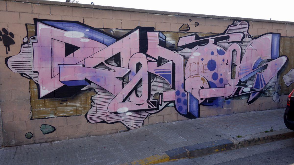 Street Art : Graffitis & Fresques Murales 08203 Sabadell (Catalunya)