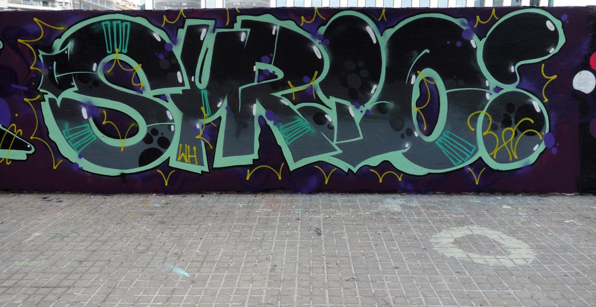 Street Art : Graffitis & Fresques Murales 08005 Barcelona (Catalunya)