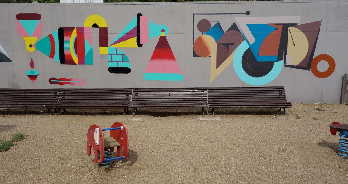 Street Art : Graffitis & Fresques Murales 08912 Badalona (Catalunya)