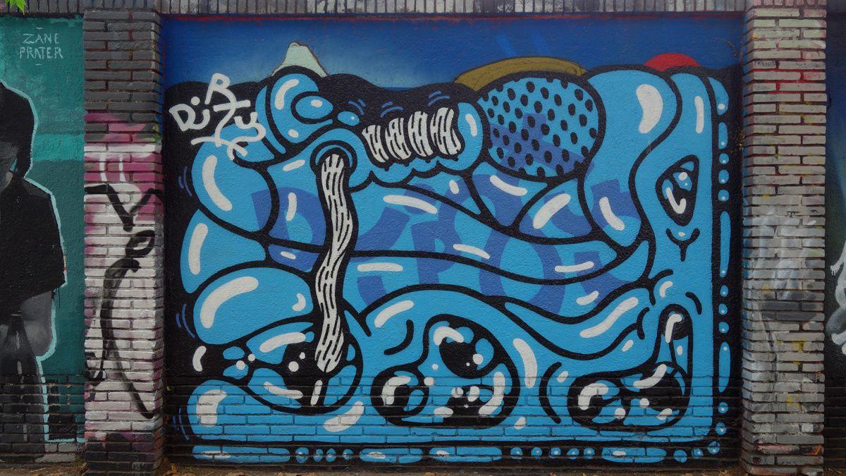 Street Art : Graffitis & Fresques Murales 08019 Barcelona (Catalunya)