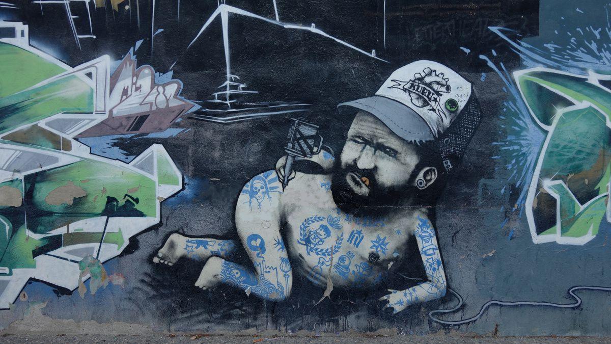 Street Art : Graffitis & Fresques Murales 17005 Gerona (Catalunya)