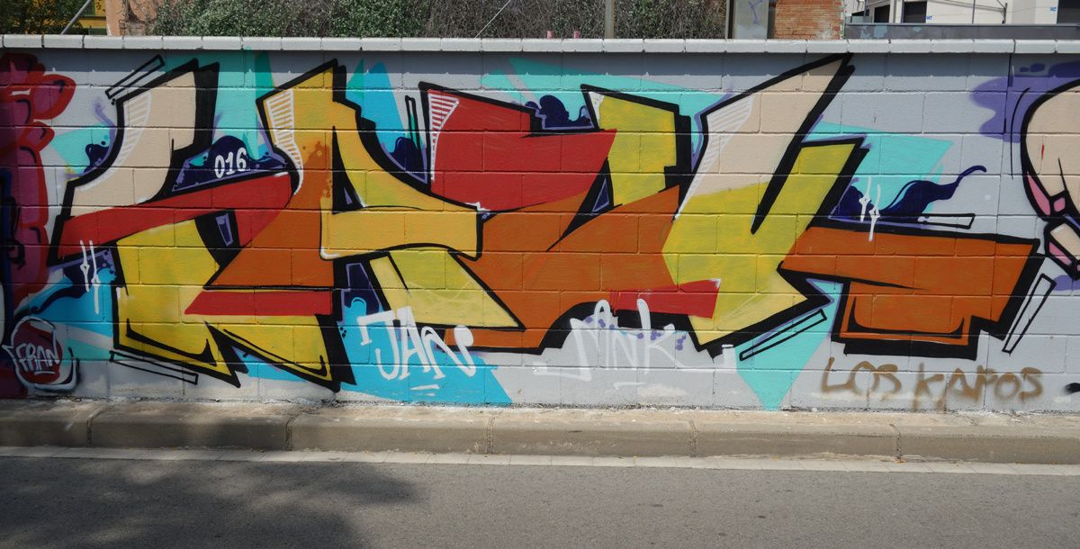 Street Art : Graffitis & Fresques Murales 08860 Castelldefels (Catalunya)