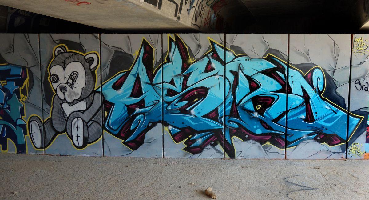 Street Art : Graffitis & Fresques Murales 08110 La Florida ( Catalunya)