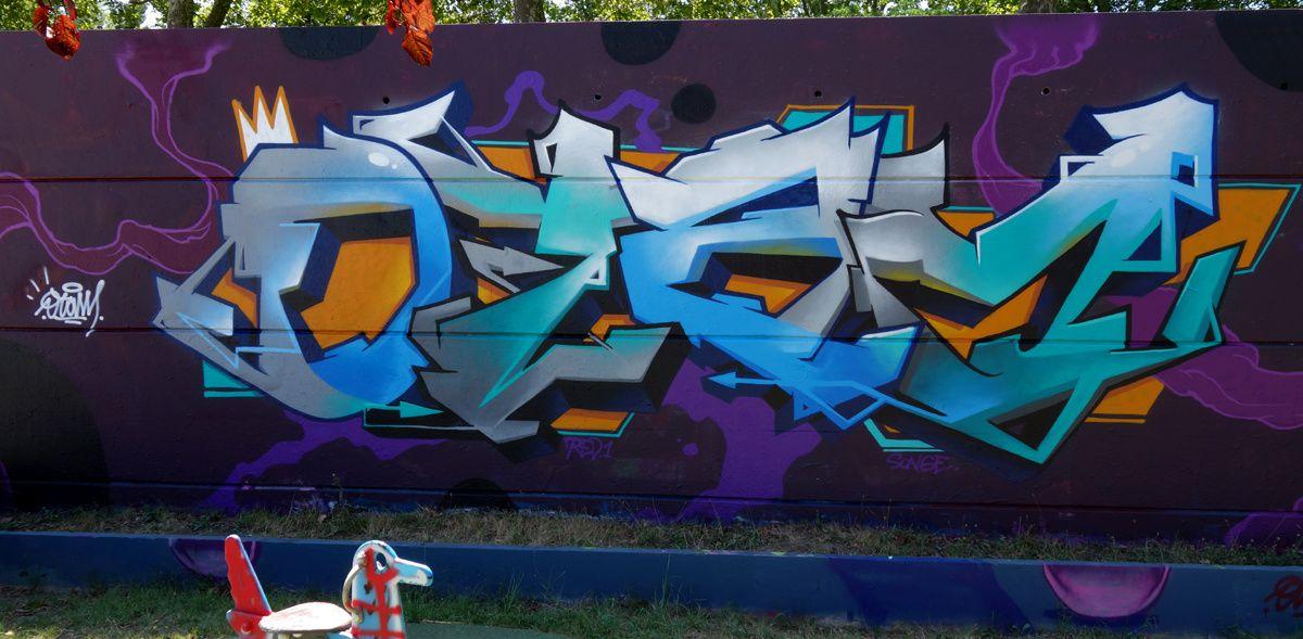 Street Art : Graffitis & Fresques Murales 31446 Ramonville Saint Agne