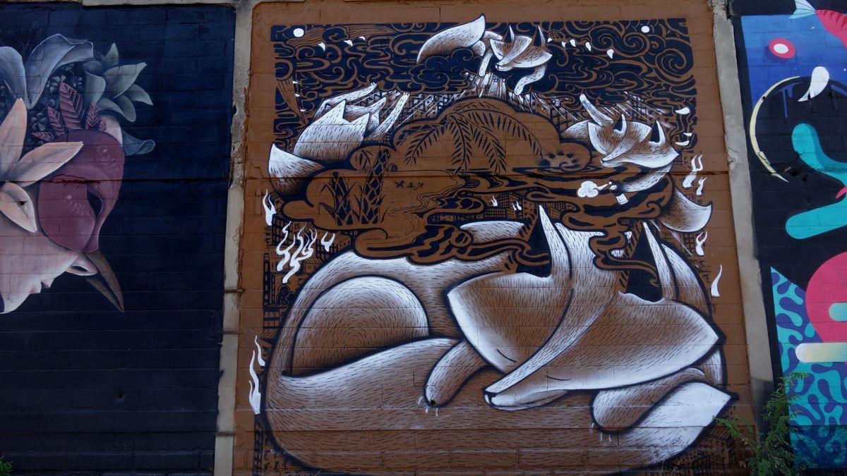 Street Art : Graffitis & Fresques Murales 33167 Floirac
