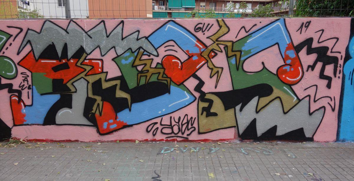 Street Art : Graffitis & Fresques Murales 08018 Barcelona (Catalunya)