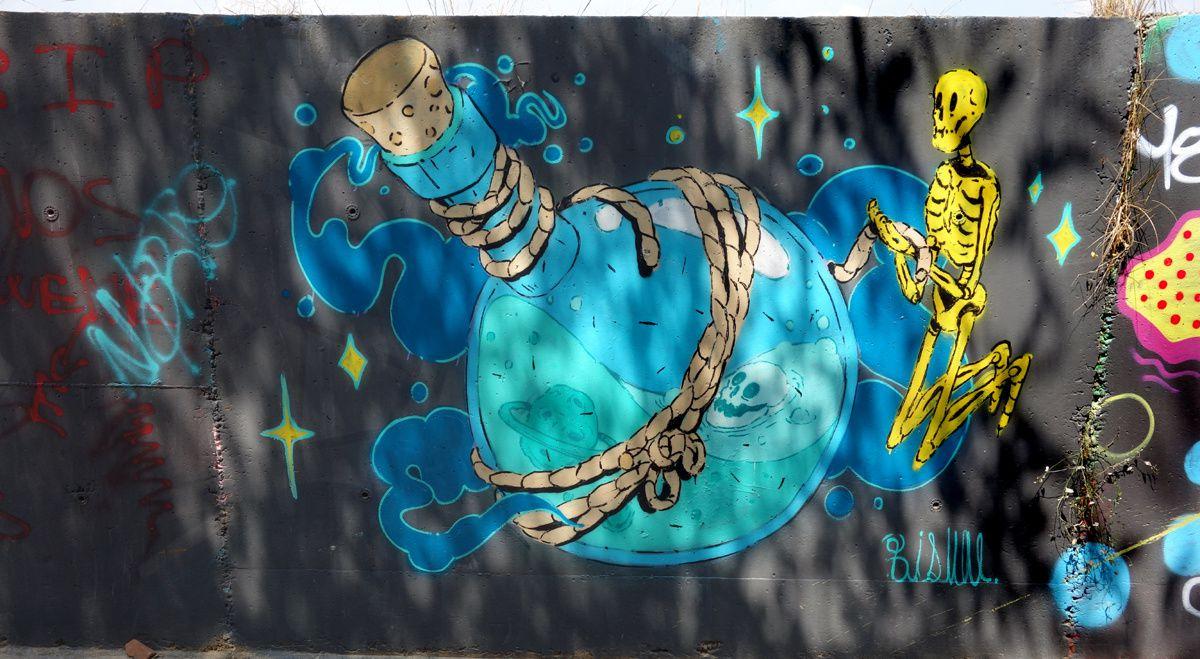 Street Art : Graffitis & Fresques Murales 08130 Barcelona (Catalunya)