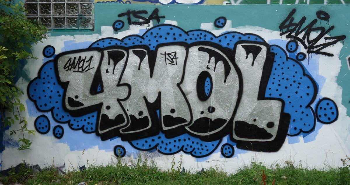 Street Art : Graffitis & Fresques Murales 93051 Noisy le grand