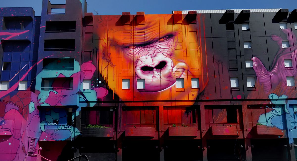 Street Art : Graffitis & Fresques Murales 69001 Lyon