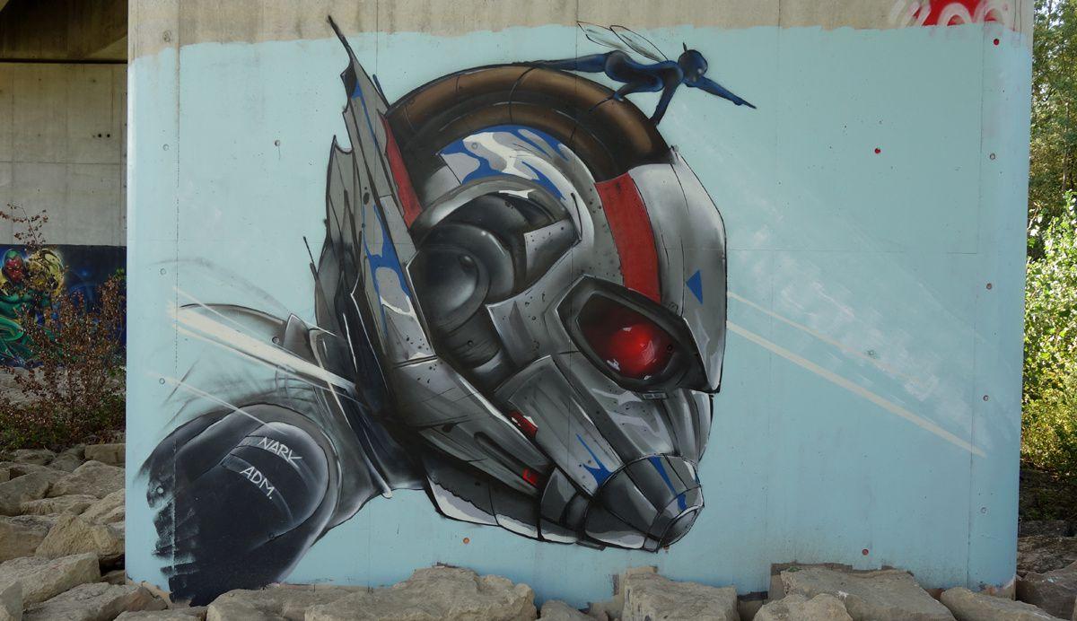 Street Art : Graffitis & Fresques Murales 01276 Nievroz