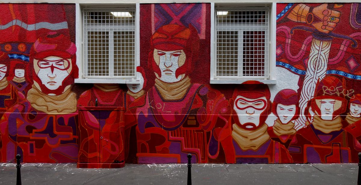 Street Art : Graffitis & Fresques Murales 75011 Paris