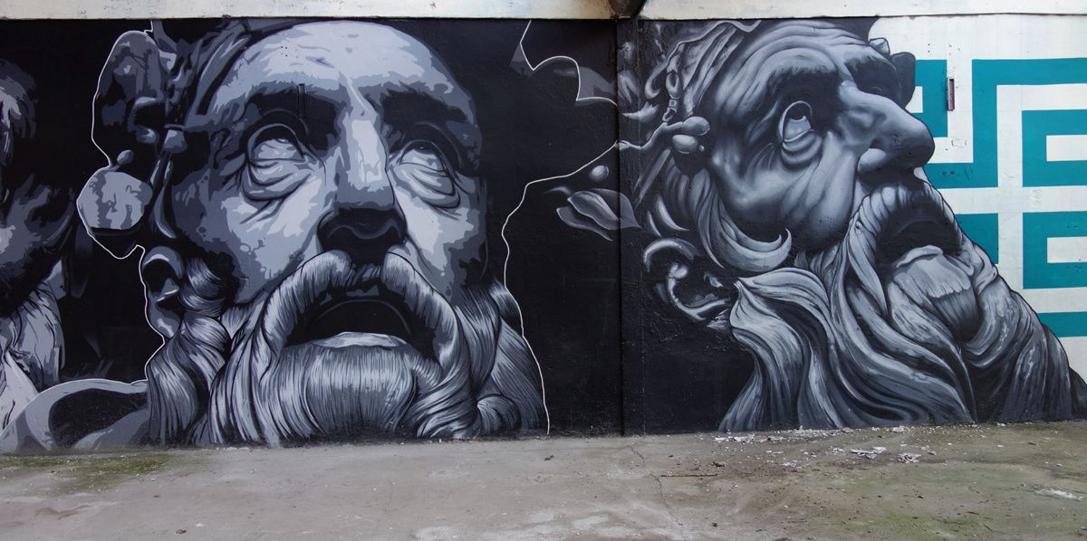 Street Art : Graffitis & Fresques Murales 69266 Villeurbanne