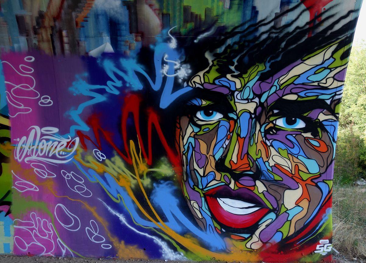 Street Art : Graffitis & Fresques Murales 07316 Soyons