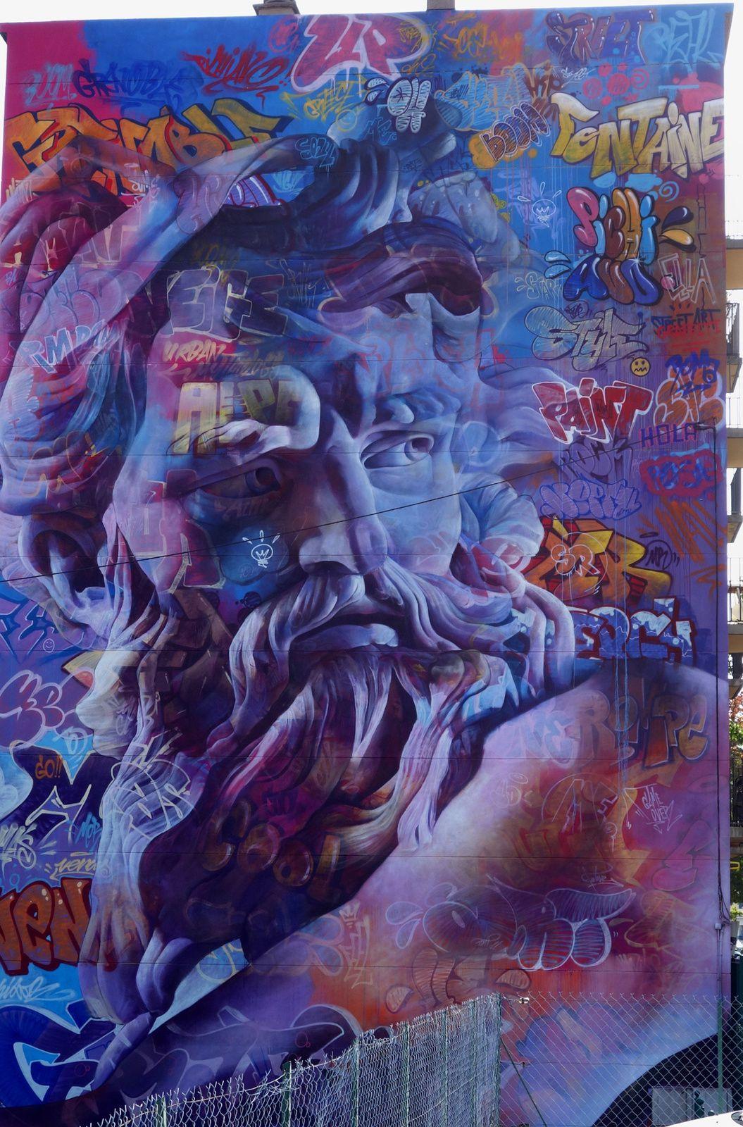 Street Art : Graffitis & Fresques Murales 38169 Fontaine